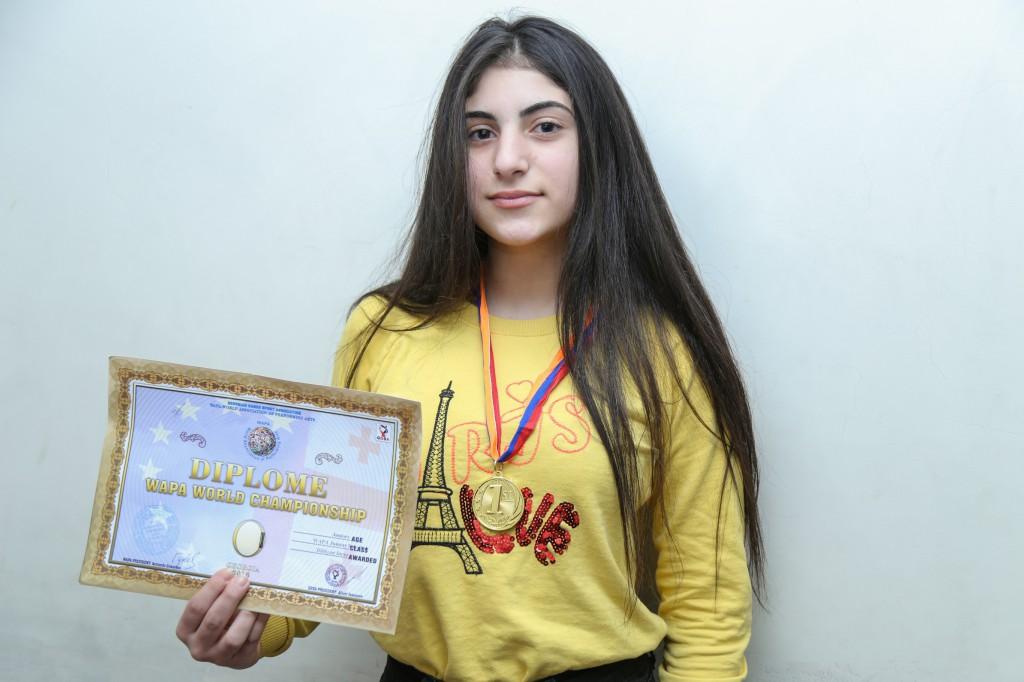 ՃԿՊԱ ուսանողուհին՝ սոլո պարային մրցույթի հաղթող