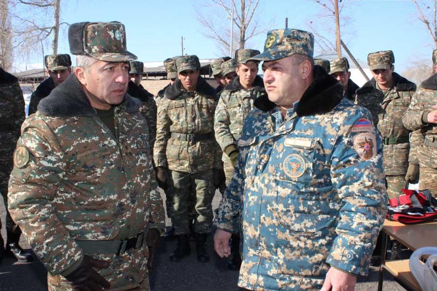Համագործակցություն՝ ՀՀ զինված ուժերի հետ