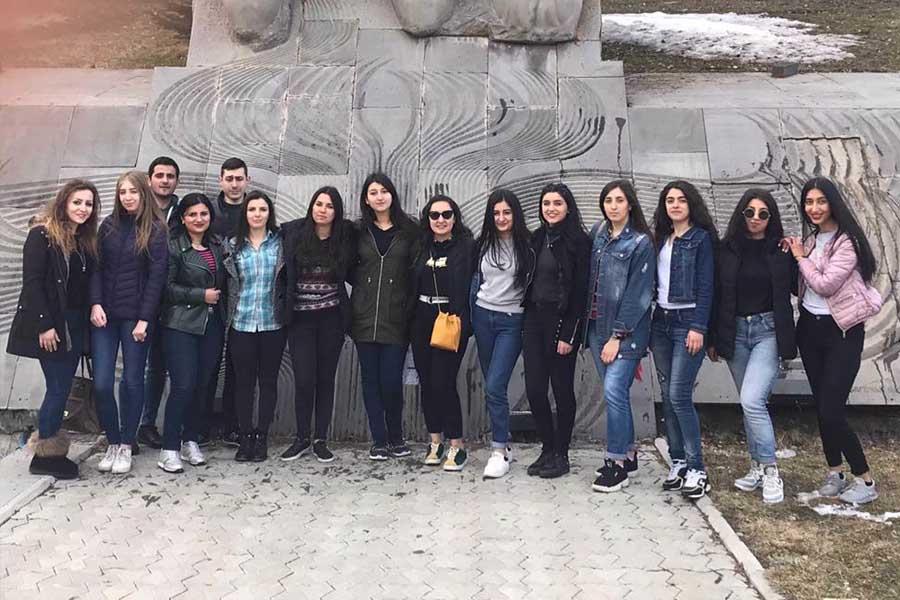 ՃԿՊԱ ուսանողները՝ Ծաղկաձորում
