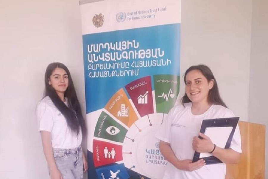 ՃԿՊԱ ուսանողները մասնակցել են համայնքի դիմակայուն զարգացման գործողությունների պլանի մշակմանը
