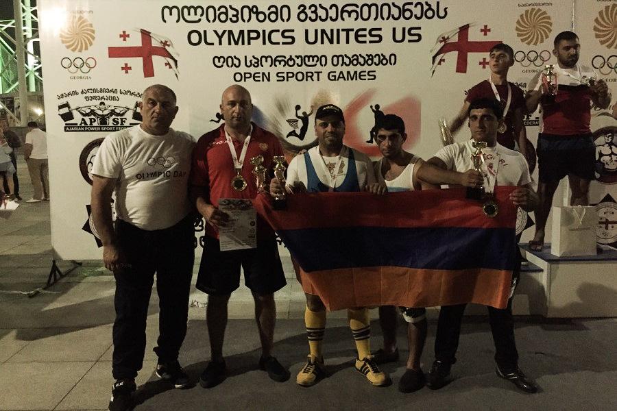 Հայ մարզիկները վերադառնում են ոսկե մեդալներով