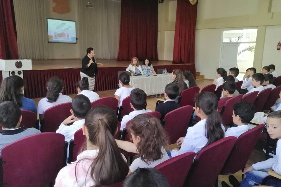 Վերապատրաստման սեմինար Երեւանի 197 հիմնական դպրոցում