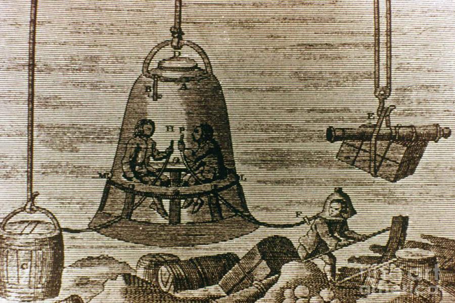 Ջրասուզական հանդերձանքի էվոլյուցիան՝ Դա Վինչիից մինչեւ Գաուզեն