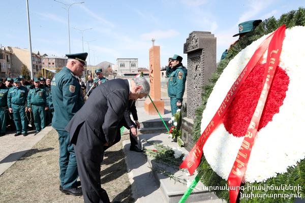 Հարգանքի տուրք Ճապոնիայի զոհերի հիշատակին