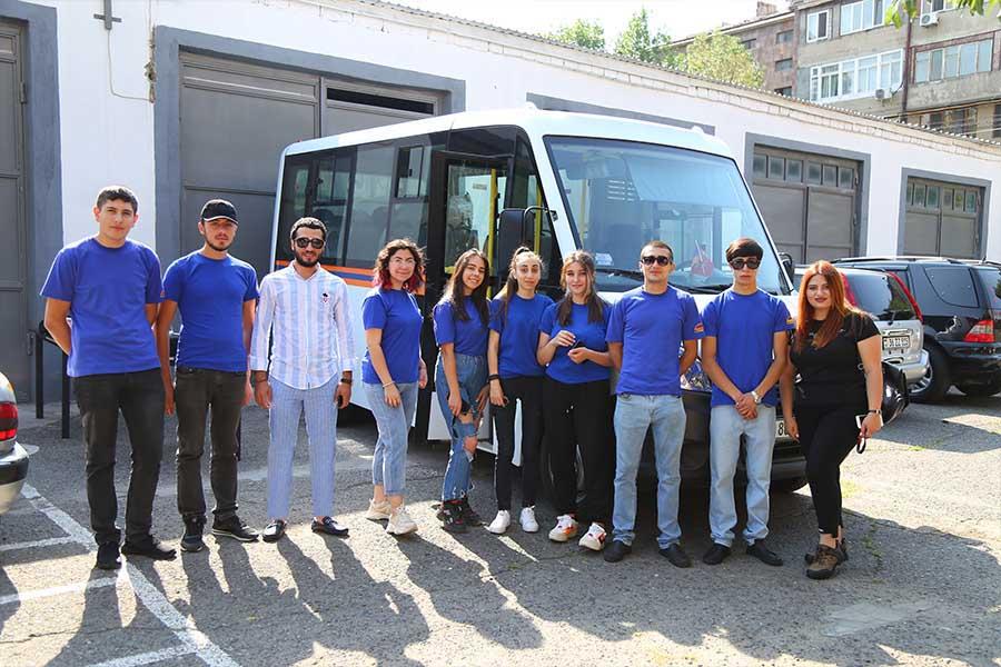 ՃԿՊԱ ուսանողները մասնակցել են սպորտային վրանային ճամբարի