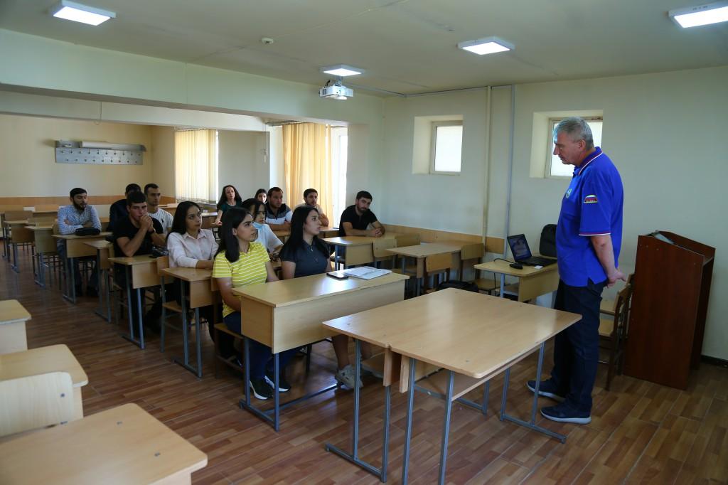 ՌԴ մասնագետը ՃԿՊԱ ուսանողների համար դասախոսություն կարդաց